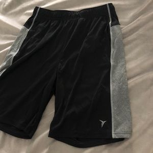 Youth OLD NAVY athletic sport basketball shorts M